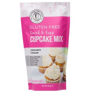 The Gluten Free Food Co Quick & Easy Cupcake Mix 500G
