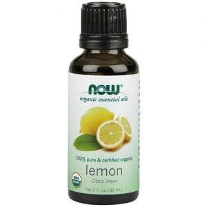 Now Organic Essential Oils Lemon Oil 30ML