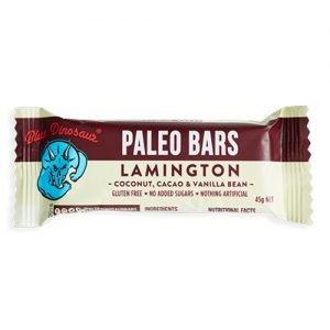 Blue Dinosaur Paleo Bar Lamington 45G