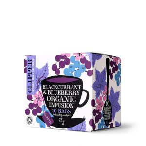 Clipper Blackcurrant & Blueberry Infusion Tea 10 Bags