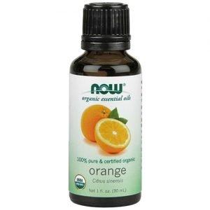 Now Organic Essential Oils Orange Oil 30ML