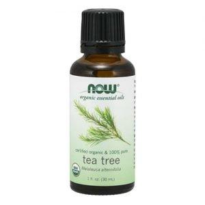 Now Organic Essential Oils Tea Tree Oil 30ML