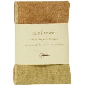 Nawrap Organic Mini Towel Grn/Brown