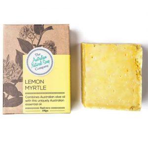 Australian Natural Soap Company Lemon Myrtle Soap 100G