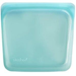 Stasher Sandwich Bag Aqua