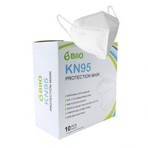 BIIO Face Masks KN95 10 Pack