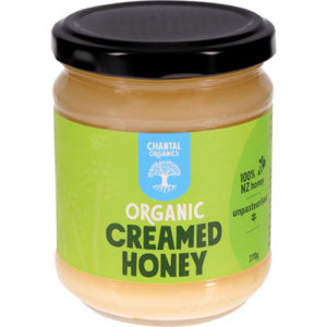 Chantal Organics Creamed Honey 270G
