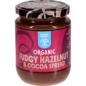 Chantal Organics Fudgy Hazelnut Spread 230G