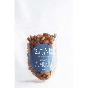 Roar Activated Raw Almonds 250G