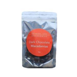 Cathedral Cove Dark Chocolate Coated Macadamia Nuts 90G