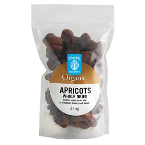 Chantal Organics Turkish Apricots 375G
