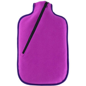 EcoWarehouse Eco Hot Water Bottle 2L – With Cover Berry