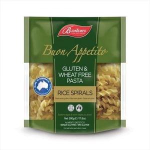 Buontempo Rice Spirals Gluten Free 500G