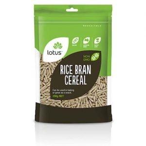 Lotus Rice Bran Cereal 250G