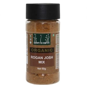 Down To Earth Organics Rogan Josh Mix 60G