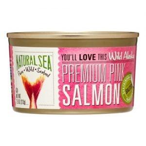 Natural Sea Premium Alaskan Pink Salmon 213G