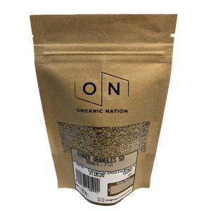 Organic Nation Ginger Granules 50G