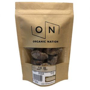 Organic Nation Dried Figs 150G
