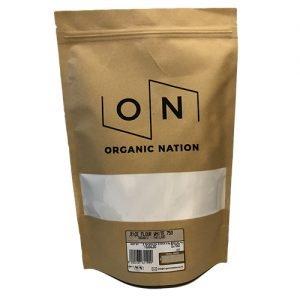Organic Nation White Rice Flour 750G
