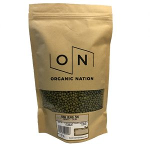 Organic Nation Mung Beans 500G