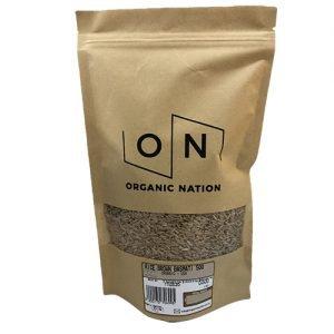 Organic Nation Brown Rice Medium Grain 500G