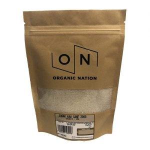 Organic Nation Raw Cane Sugar 200G