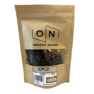 Organic Nation Sultanas 150G