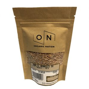 Organic Nation Garlic Granules 50G