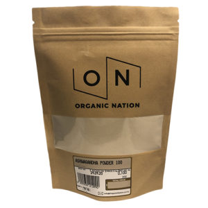 Organic Nation Ashwagandha Powder 100G