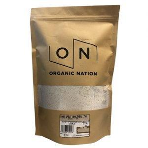 Organic Nation Flour Spelt Wholemeal 750G