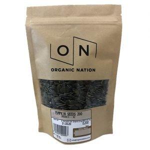 Organic Nation Pumpkin Seeds 200G