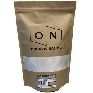 Organic Nation Stoneground White Flour 750G