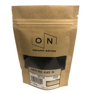 Organic Nation Cumin Seed Black 50G
