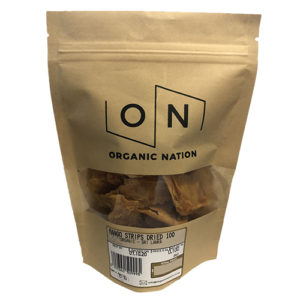 Organic Nation Dired Mango Strips 100G