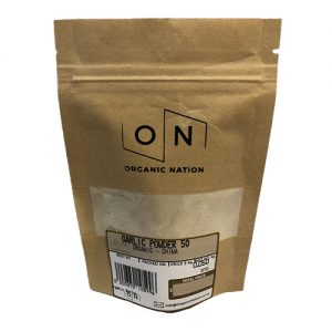 Organic Nation Garlic Powder 50G
