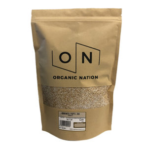 Organic Nation Amaranth Puffs