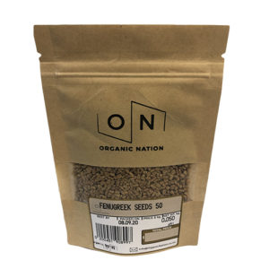 Organic Nation Fenugreek Seeds 50G