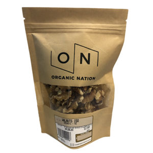 Organic Nation Walnuts 150G
