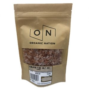 Organic Nation Himalayan Pink Salt Coarse 300G