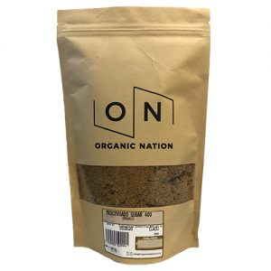 Organic Nation Muscovado Sugar 750G