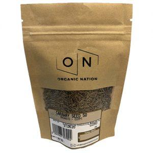 Organic Nation Caraway Seeds 50G