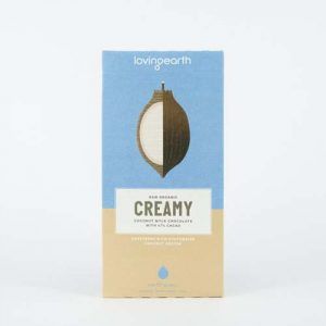 Loving Earth Creamy Coconut Milk Chocolate 80G