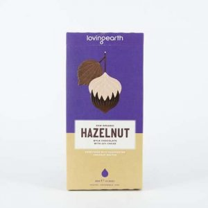 Loving EarthHazelnut Mylk Chocolate 80G