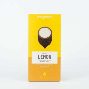 Loving Earth Lemon Caramel Cheesecake 80G